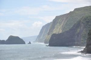 View of cliffs